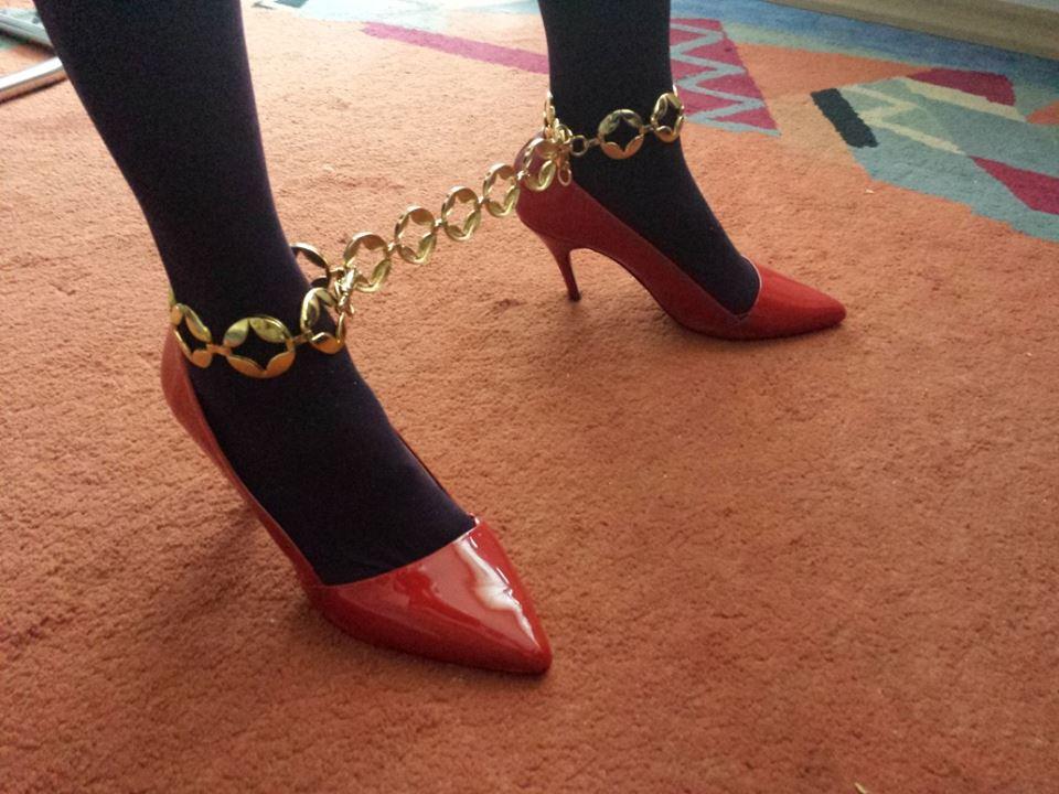 Une chaîne est une chaîne même dorée/Photo