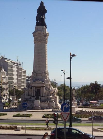 Le monument Marques de Pombal Credit Rendodjo