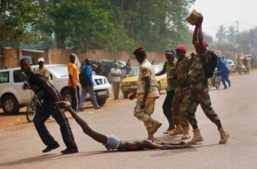 Article : Bangui, j´accuse. Je nous accuse