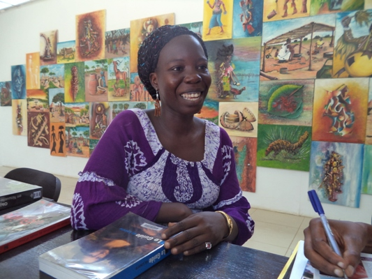 Yaba Odile, une artiste-peintre