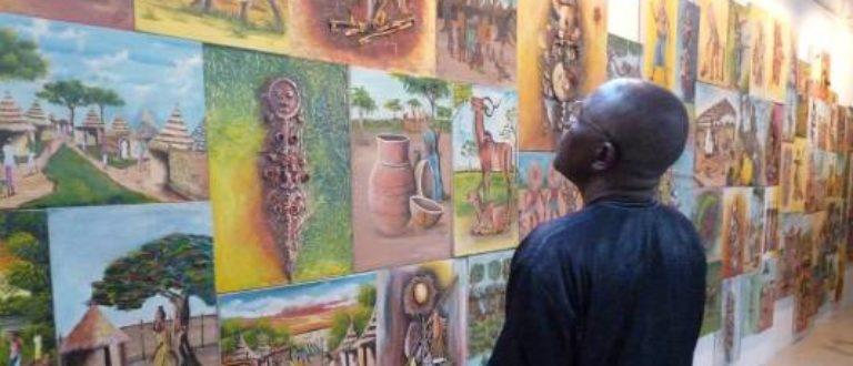 Article : Expo-peinture: des couleurs venues de Sarh